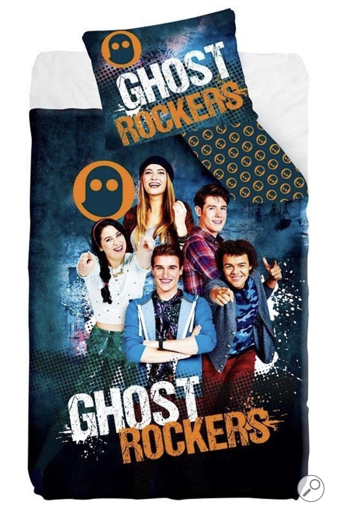 Ghost Rockers Dekbedovertrek 140x200 cm + kussensloop 65x65cm @ Bol.com