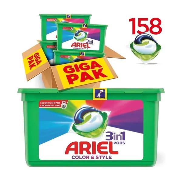 ARIEL ORIGINAL 3-IN-1 PODS (color)