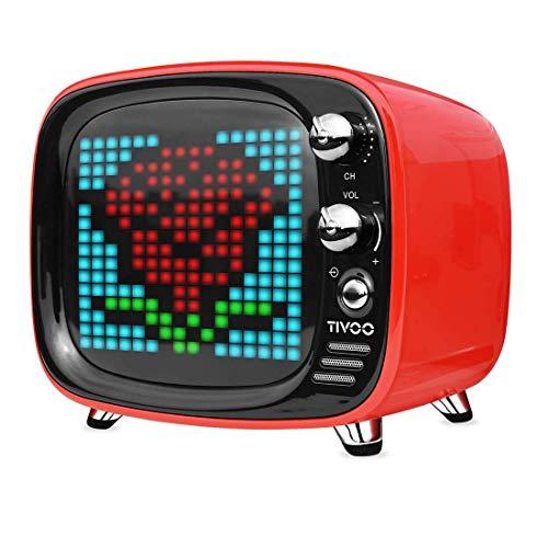 Divoom Tivoo (Smart Pixel Art Screen & Retro Bluetooth Speaker)