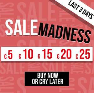 Sale Madness: alles €5-€35 + 20% EXTRA korting @ Maison Lab