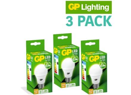 GP LED LAMPEN 3PACK @ KOOPJESCORNER.COM € 24,95
