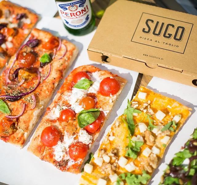 UNLIMITED PIZZA voor €10  @Sugo