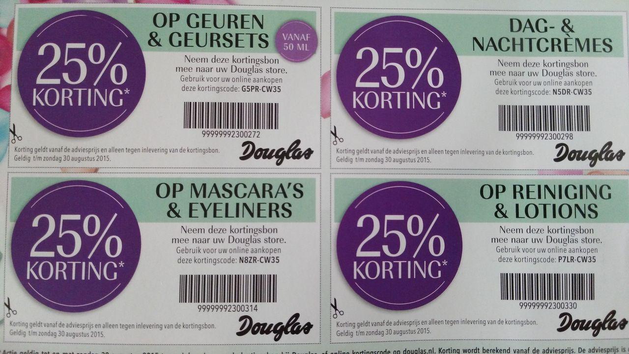 Fabulous Shoping Week met 25% korting @ Douglas