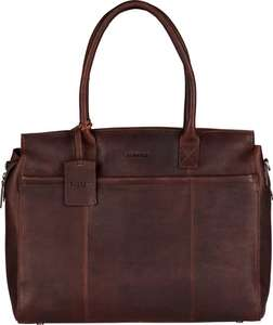 Leren Burkely Antique Avery Laptoptas Bruin -64% | Laatste dag sale | Unisex