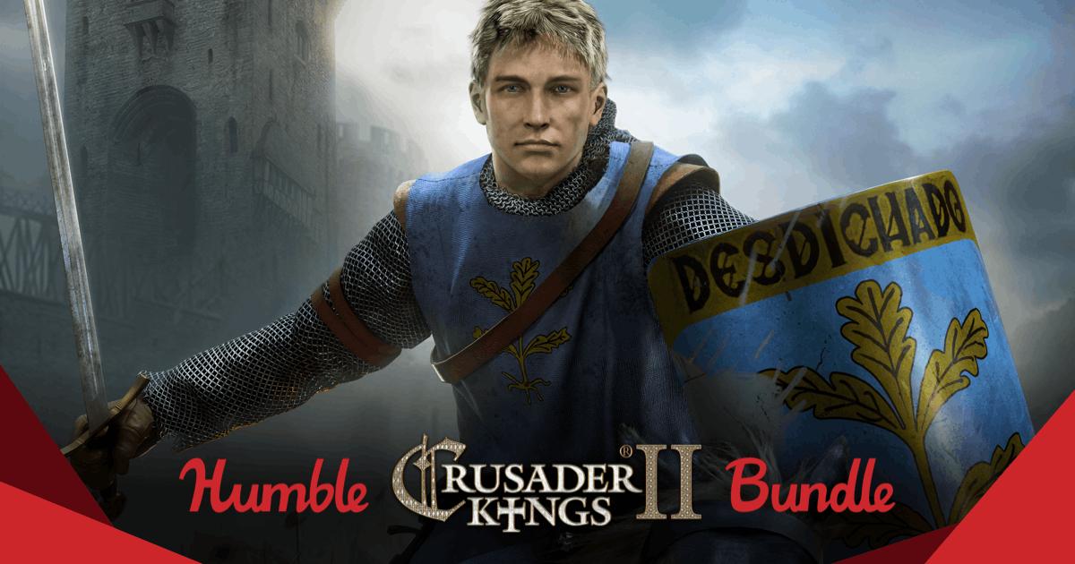 The Humble Crusader Kings II Bundle vanaf €0,90 @ Humble Bundle