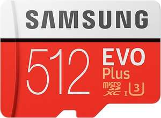 Samsung Evo Plus MicroSDXC 512GB U3 - met adapter @ Bol.com