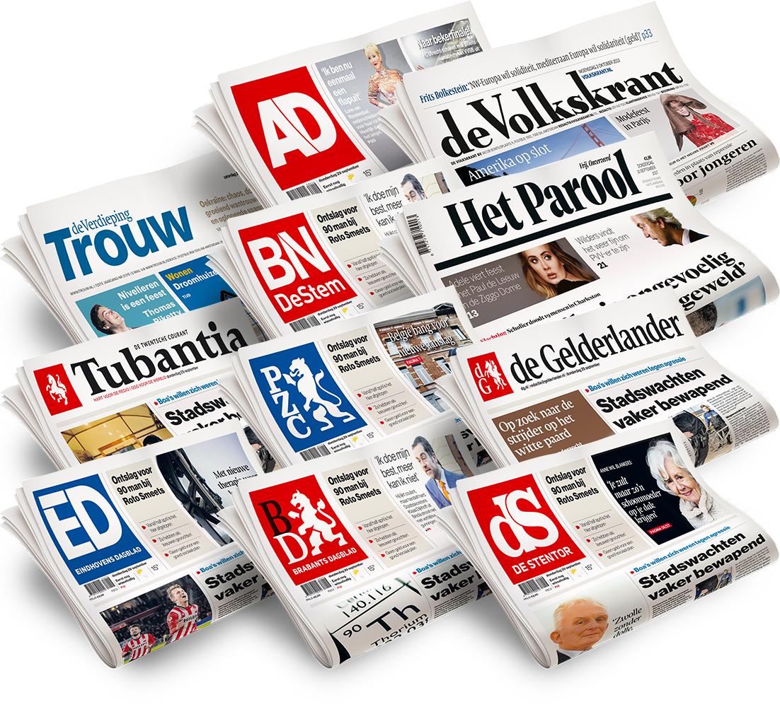 3 weken krant voor 1 euro