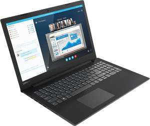 "Lenovo V145-15AST Laptop 15,6"" Full HD, 256GB SSD, 8GB Ram, Windows Home (Back2School)"