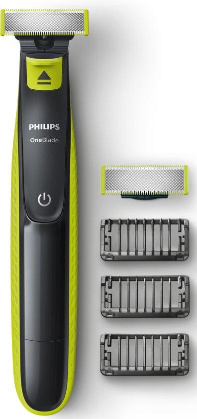 Philips OneBlade QP2520/30 - Trimmer, scheerapparaat en styler @ BOL