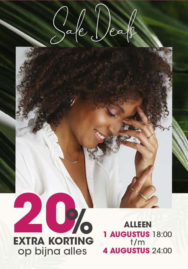20% extra korting - online én in de winkels @ Lucardi