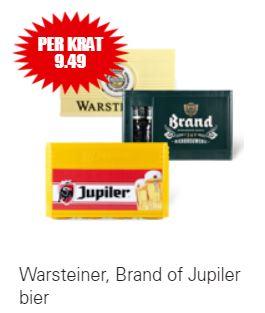 Krat Warsteiner, Brand of Jupiler bier @Dirk