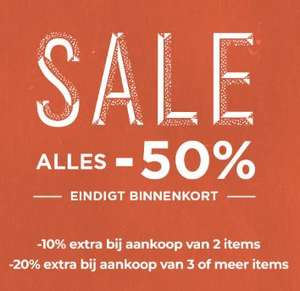 SALE -50% + 10-20% EXTRA (min 2/3 items) @ Scotch & Soda
