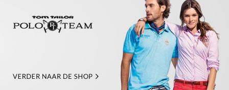 30% extra korting op kleding in de sale @ Tom Tailor