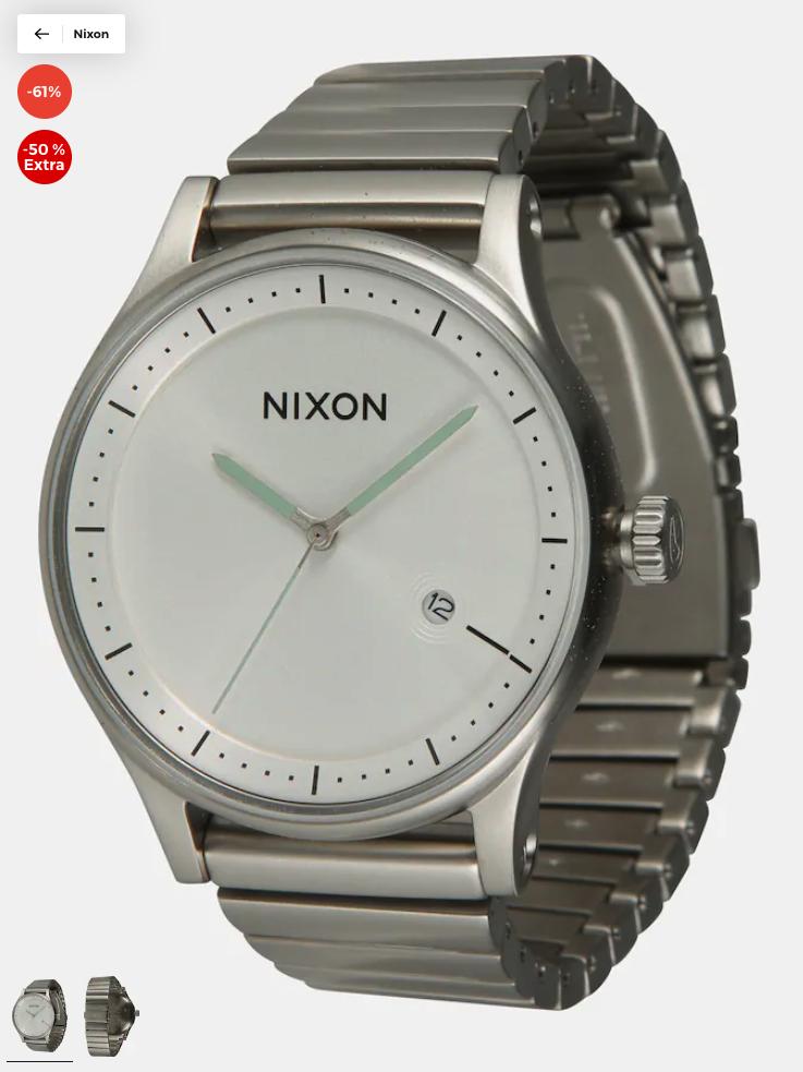 Diverse NIXON horloges vanaf €42,45 @ Aboutyou.nl