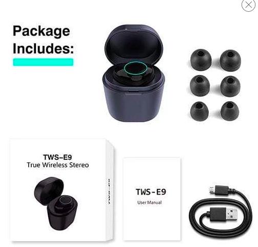 HolyHigh Bluetooth oordopjes. Voor 13,99 euro.