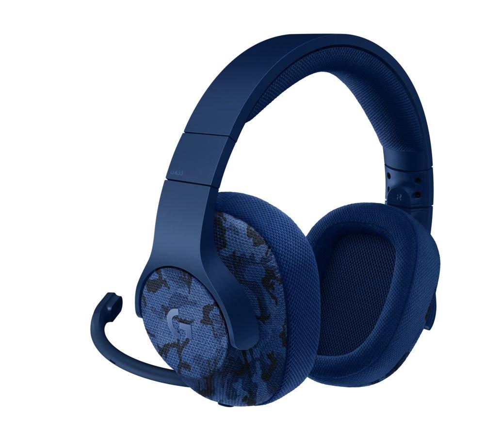 Logitech G433 DTS7.1 Camo Surround Headset voor €50,42 @ Amazon UK