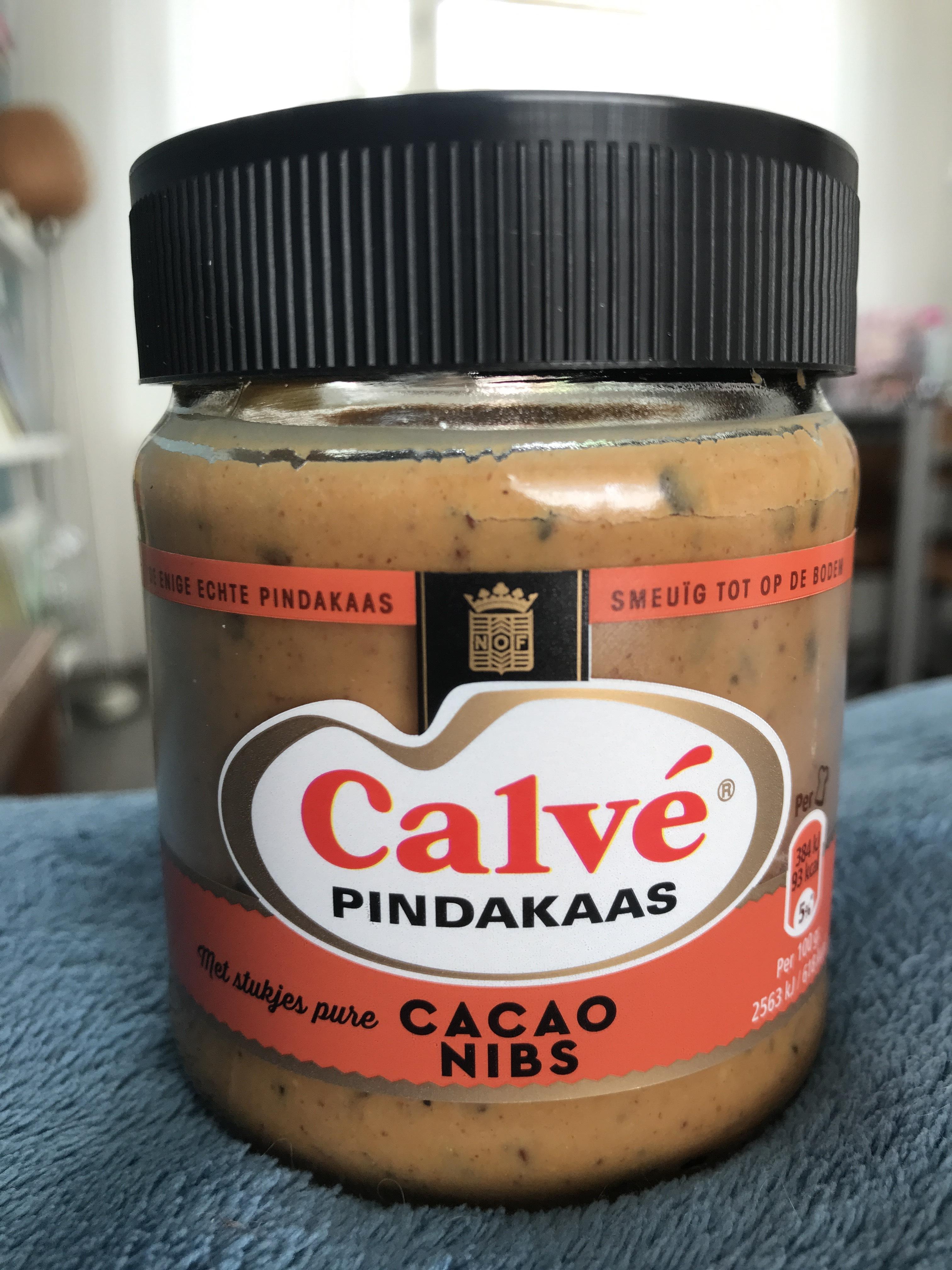 Calvé pindakaas cacao nibs €0,50 Xenos