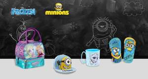 Frozen & Minions goodies vanaf €2,20 @ Showroomprivé
