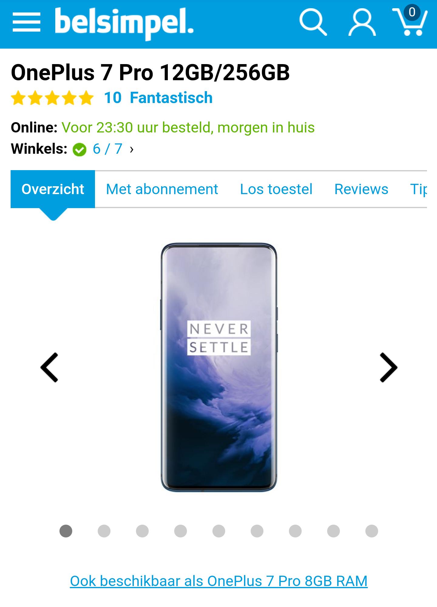 OnePlus 7 Pro 12GB/256GB