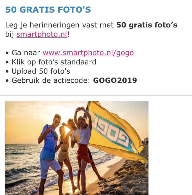 50 foto's afdrukken @Smartphoto voor €3.94
