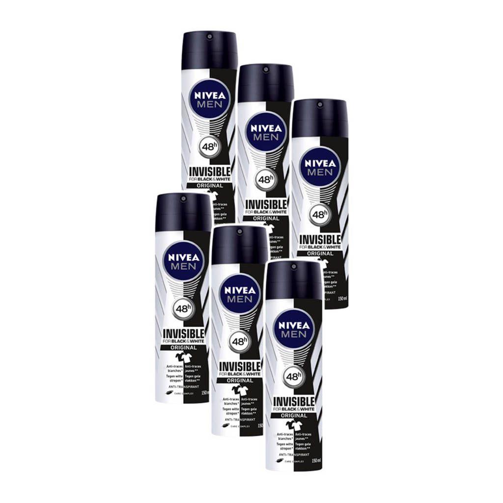 [Amazon.de] 6x 150ML Nivea Deodorant variaties [Mannen en vrouwen!]
