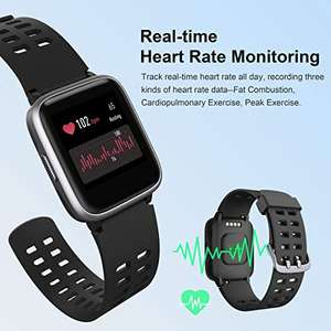 HolyHigh Smart Watches GPS Sports Watch Touchscreen IP68 met coupon.