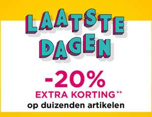 SALE tot -80+% korting + 20% extra + €10 extra @ Outlet Avenue