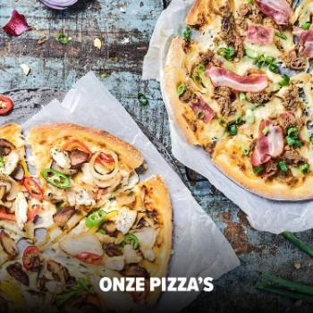 Pizza  + Cheesy bread + Lavacake voor €4,95 @ Domino's