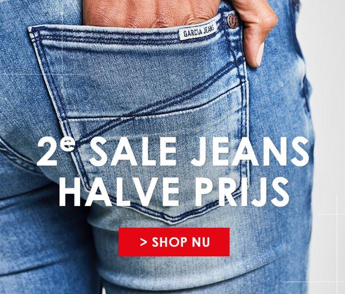 SALE + 2e jeans halve prijs (al 2 voor €22,50) @ Jeans Centre
