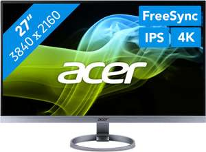 Acer H277HK (UM.HH7EE.030) 27 inch 4K IPS Monitor @ Coolblue