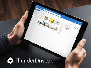 2TB Cloud Storage: ThunderDrive Lifetime Subscription