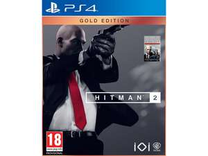 Hitman 2 Gold Edition PS4 €22,95 @ iBOOD