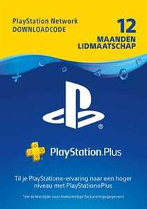 PlayStation Plus - 12 maanden (digitale code) @ Press Start