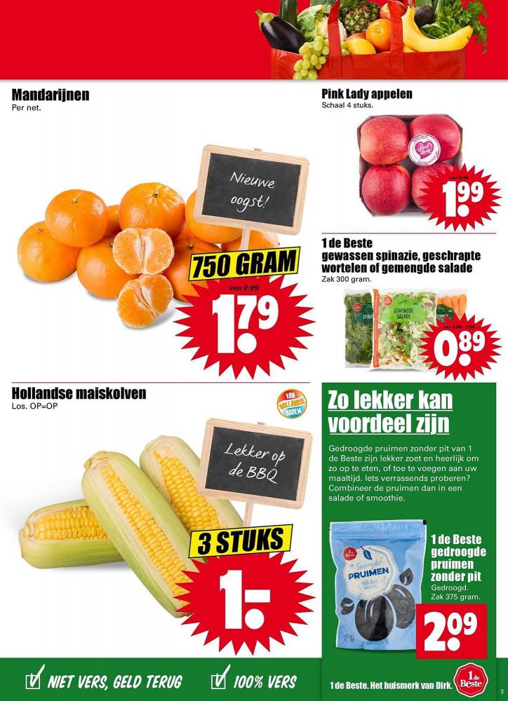 Mais (3 voor 1 eulo)