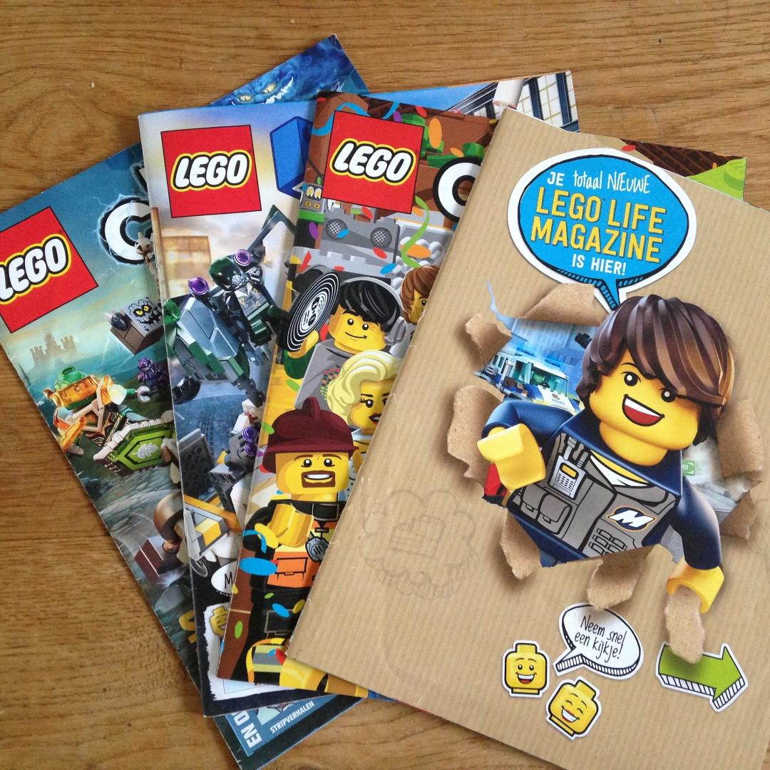 GRATIS LEGO® Life Magazine @LEGO