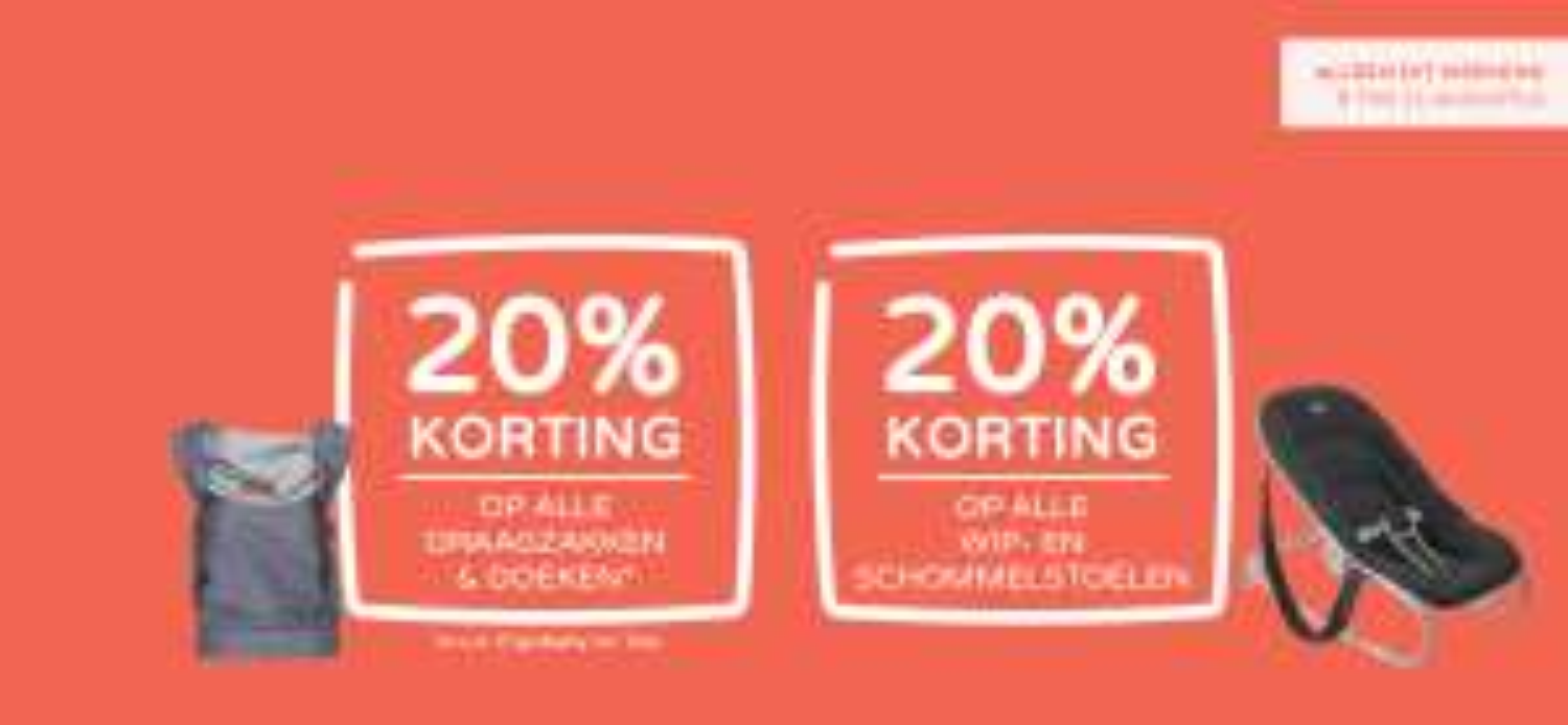 Prenatal - 20% korting op alle draagzakken en doeken* én op alle wip- en schommelstoelen
