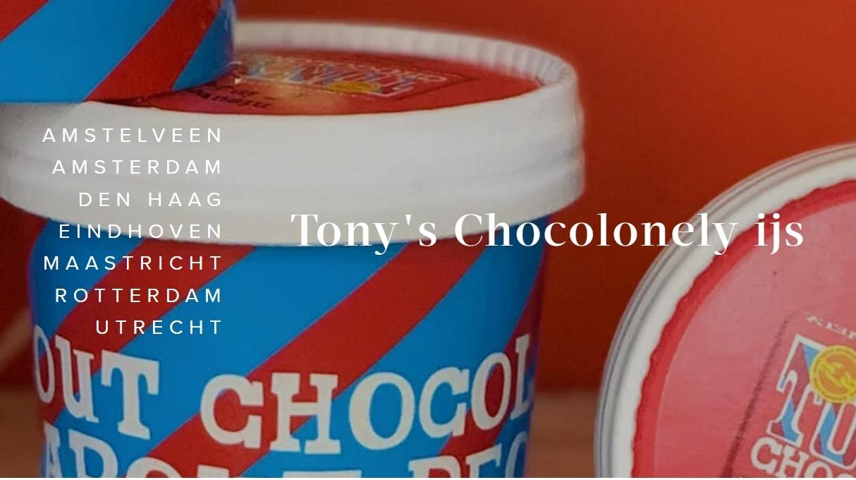 Gratis Tony's Chocolonely ijs bij aankoop van 5 repen chocolade