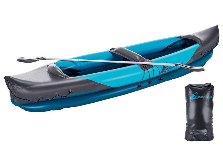 Opblaasbare 2 persoons kayak 40% korting