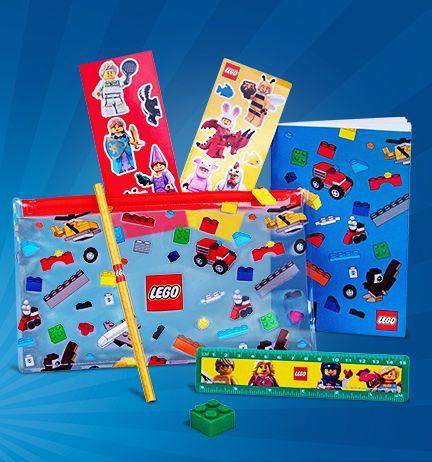 Gratis LEGO® Terug naar school-pakket bij aankopen vanaf €55,-