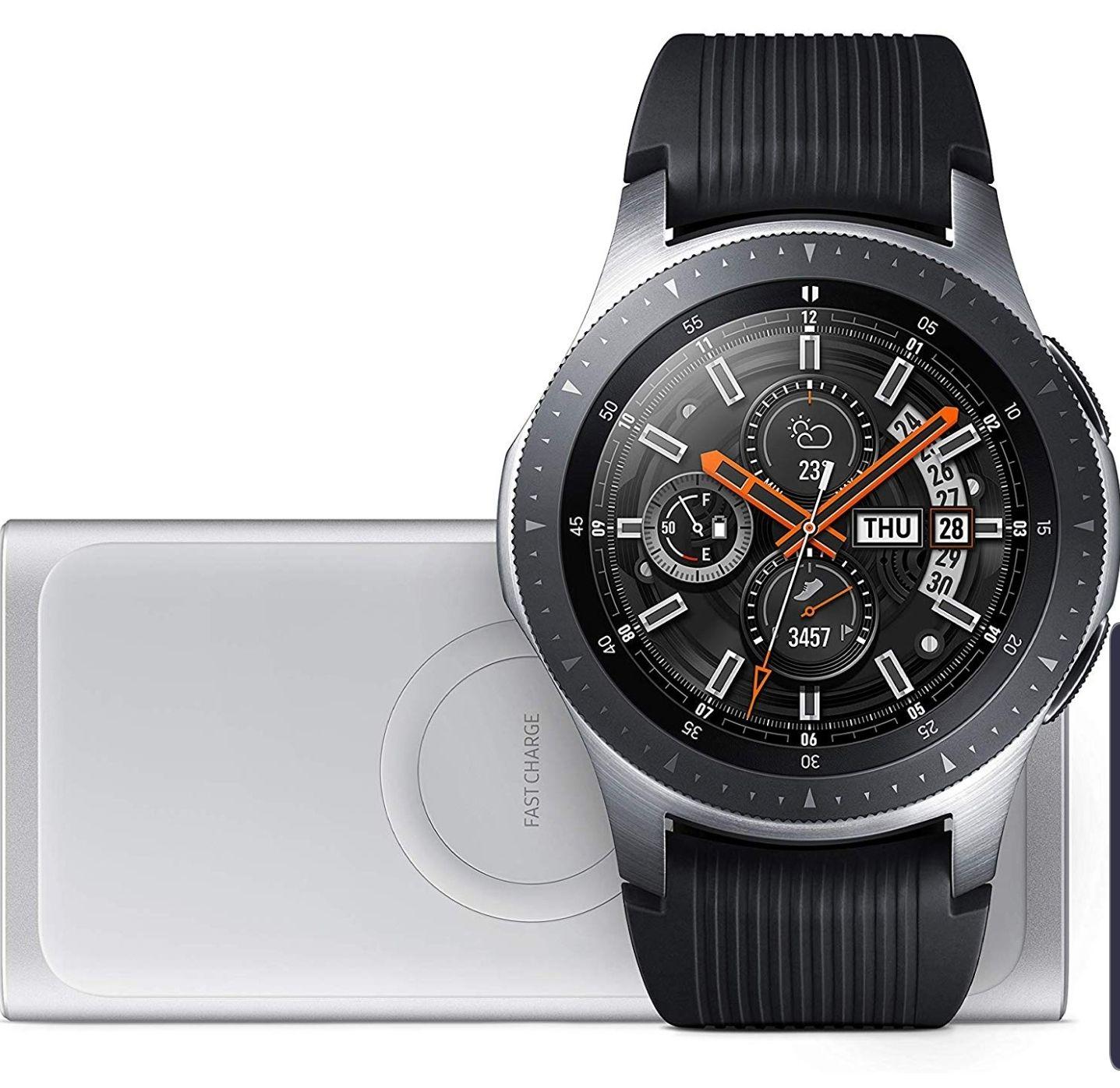 Galaxy watch 46mm. + Inductieve powerbank