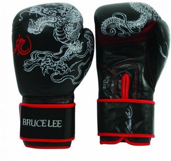 Bruce Lee Dragon bokshandschoenen 14oz van Leer