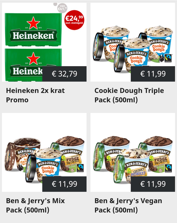[Landelijk] 36 blikken Amstel Radler €10 & [Amsterdam] Ben&Jerry's 500ml voor €2,33 per stuk