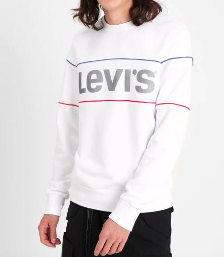 REFLECTIVE CB CREW - Sweater. Levi's 50% korting + gratis verzending