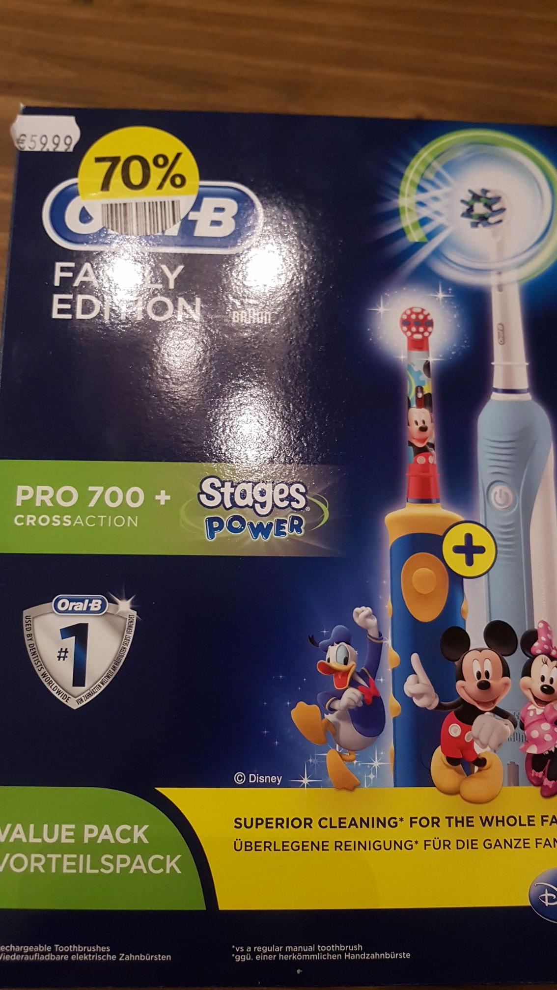 Oral b family pack elektrische tandenborstels (etos)