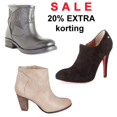 20% EXTRA korting op alle schoenen SALE @ Shoesforfashion