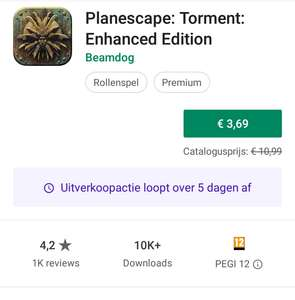 Planescape: Torment: Enhanced Edition (Google Play)
