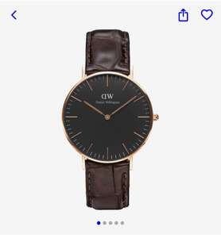 Daniel Wellington unisex horloge €49,99