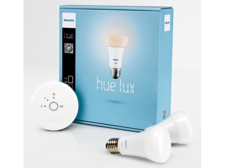 [Update] Philips Hue Lux StarterSet (2 lampen, met Bridge) voor €69,95 @ Media Markt