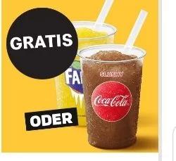 [Grensdeal DE] Gratis Frozen Cola/Fanta @McDonalds Duitsland