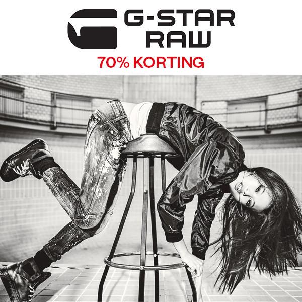 G-Star dames (kleding + tassen) -70% @ Maison Lab